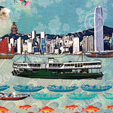 Hong Kong Ferry Artwork