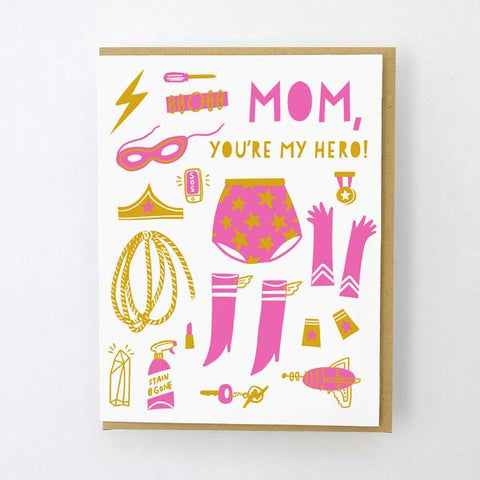 'Super Mom' Card