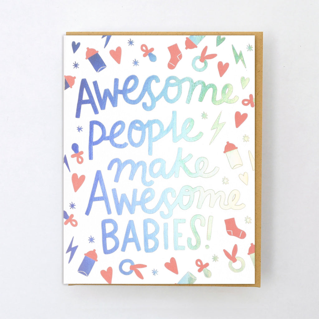 'Awesome Babies' Card