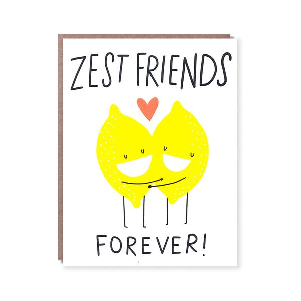 'Zest Friends' Card
