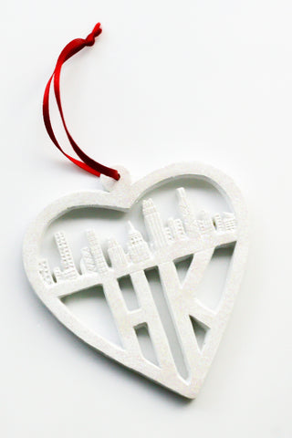 Hanging Decoration: Hong Kong Heart