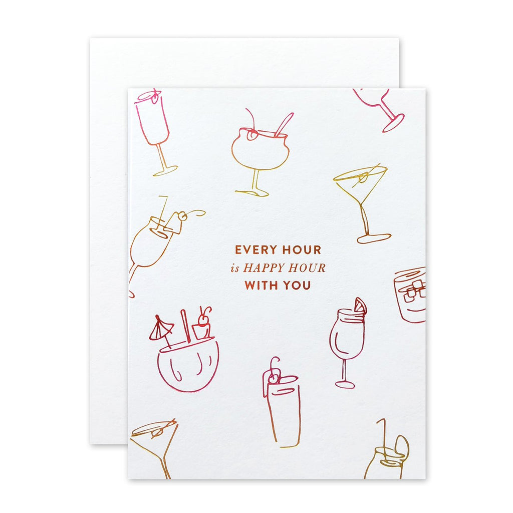 """ HAPPY HOUR "" Card"