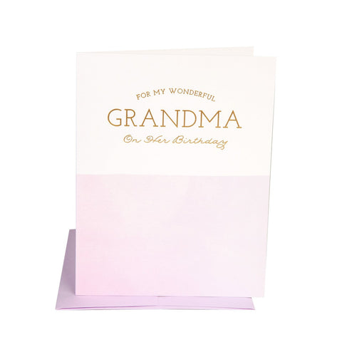 """  GRANDMA BIRTHDAY  "" Card"