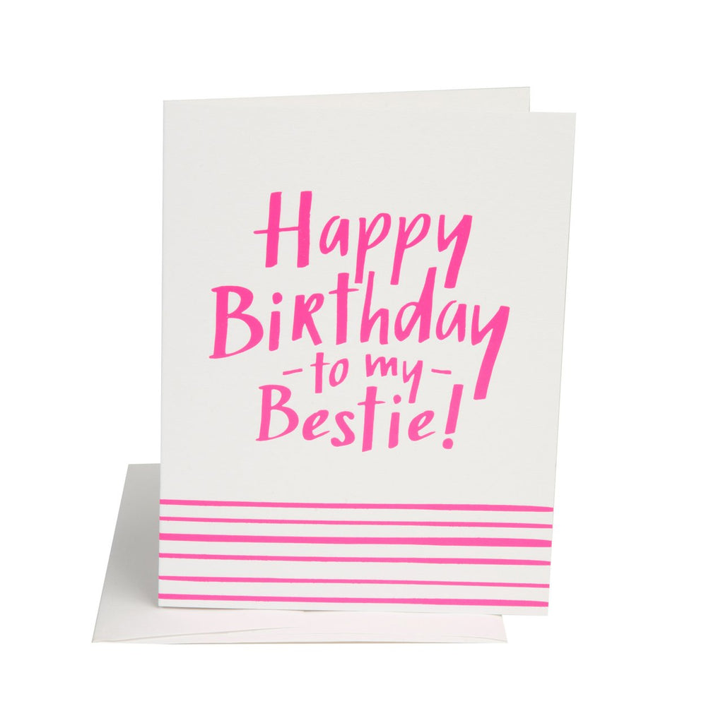 """ BIRTHDAY BESTIE "" Card"