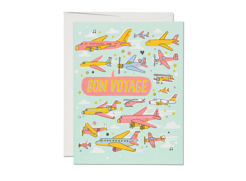 """ Airplanes "" Card"