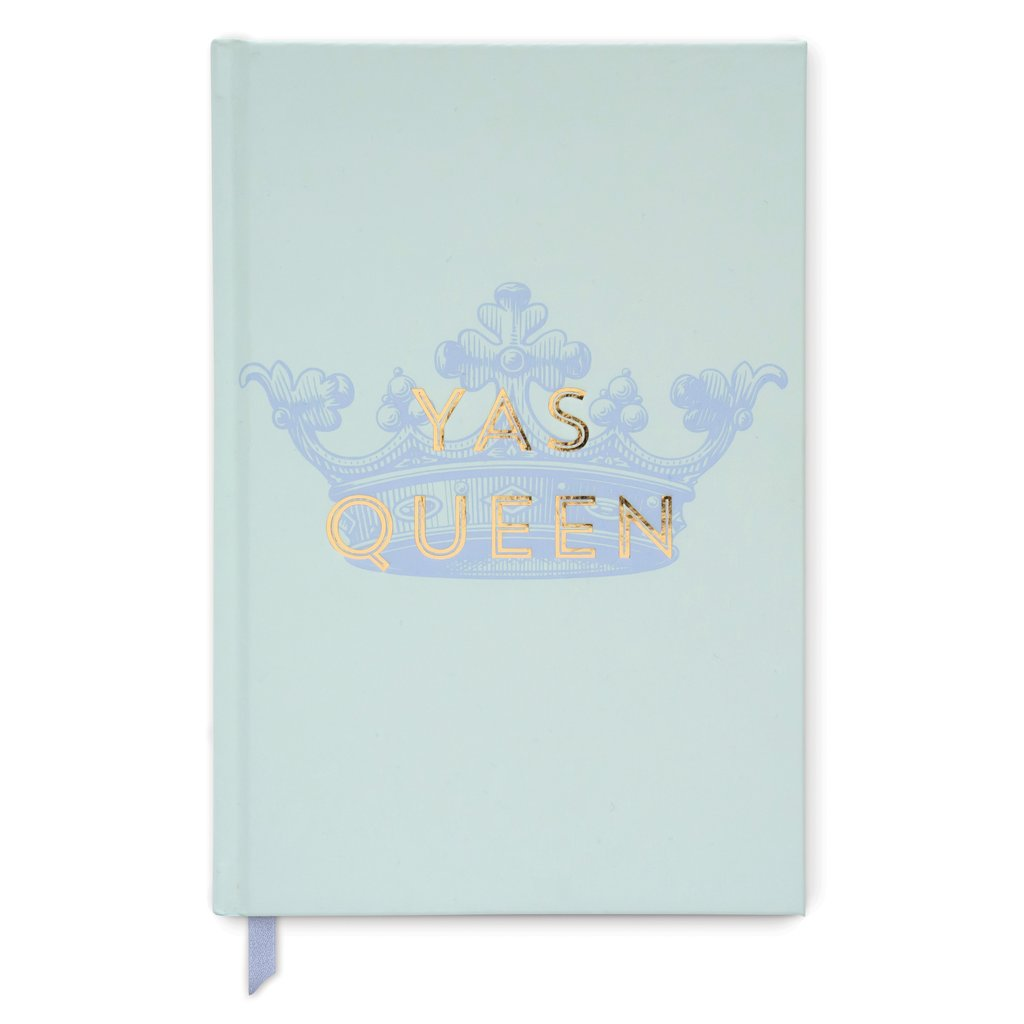 Vintage Sass Hard Cover Journal | Yas QUEEN