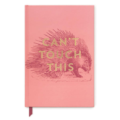 Vintage Sass Hard Cover Journal | Cant Touch This