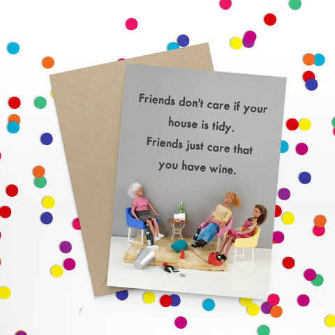 """ Tidy House "" Greeting Card"