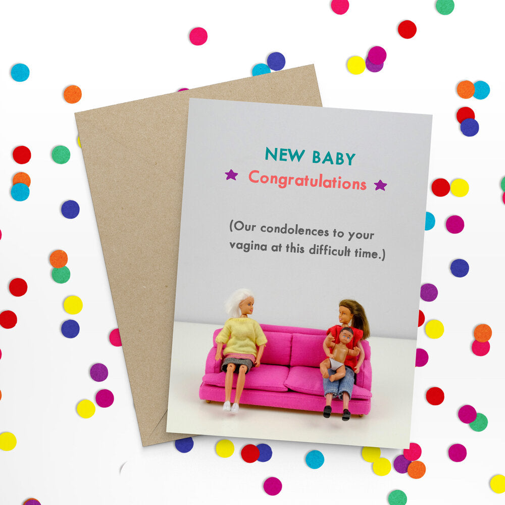 """ New Baby "" Greeting Card"