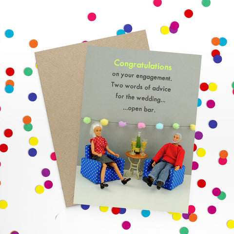 """ Engagement "" Greeting Card"