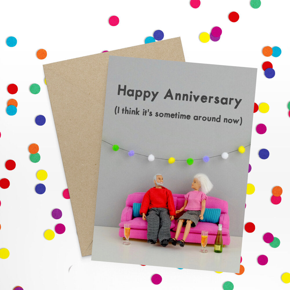 """ Anniversary "" Greeting Card"