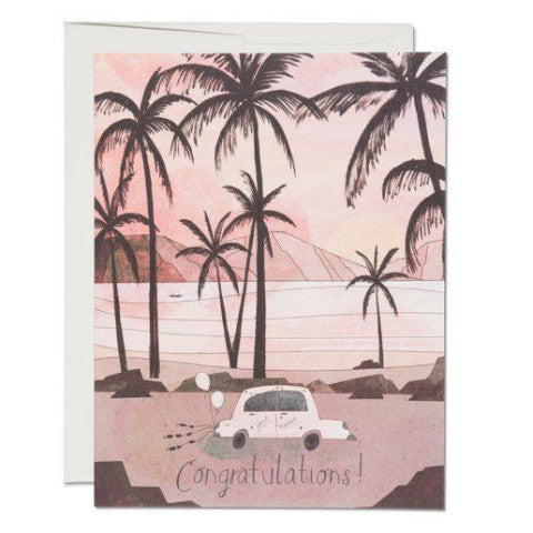 """Getaway Car"" Card Greeting Cards - Thorn and Burrow"