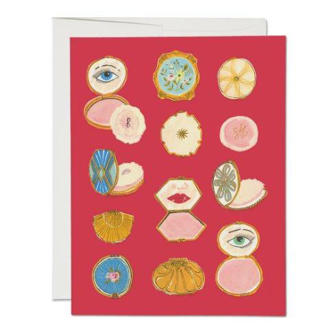 """ Compacts"" Card Greeting Cards - Thorn and Burrow"