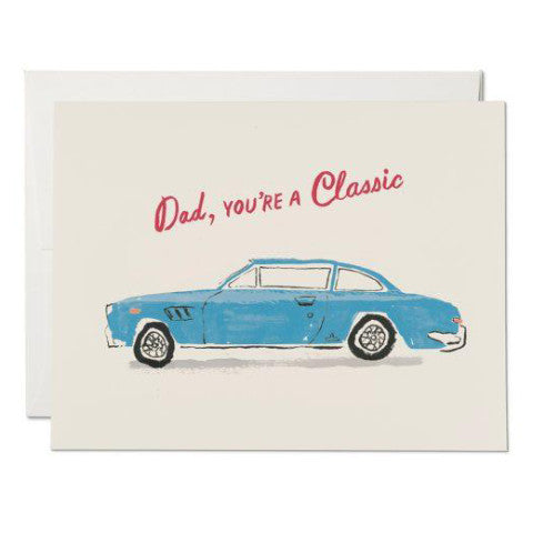 """Classic Dad"" Card Greeting Cards - Thorn and Burrow"