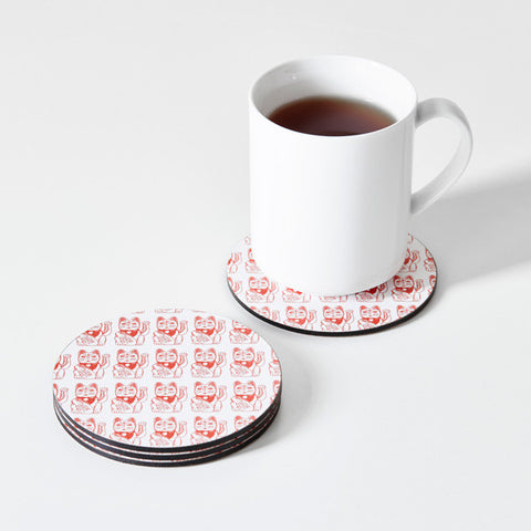 Lucky Cat Coasters