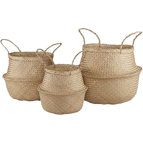 Natural Seagrass Storage Basket