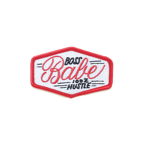""" Boss Babe "" Iron-On Patch"