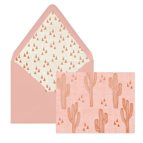 Cactus Cuties | Envelope & Note Cards