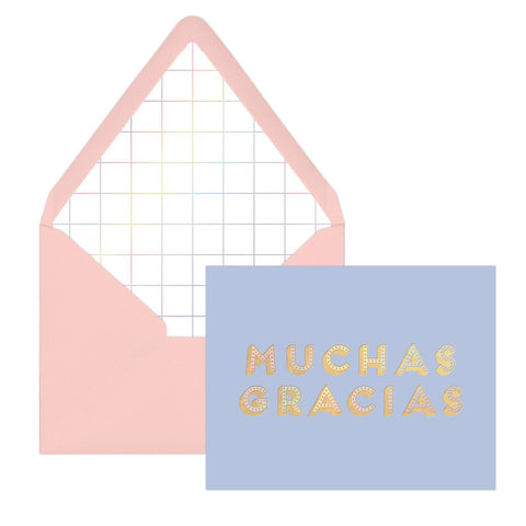 "Iridescent ""Muchas Gracias"" 
