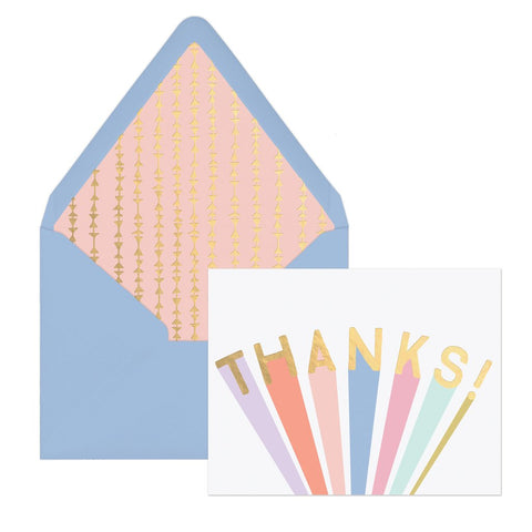 """Thanks"" 
