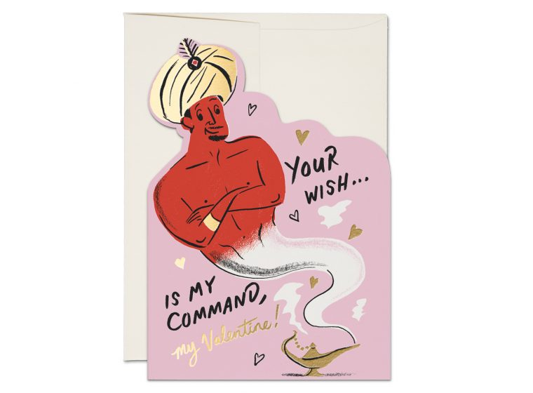 """ Genie "" Card Greeting Cards - Thorn and Burrow"