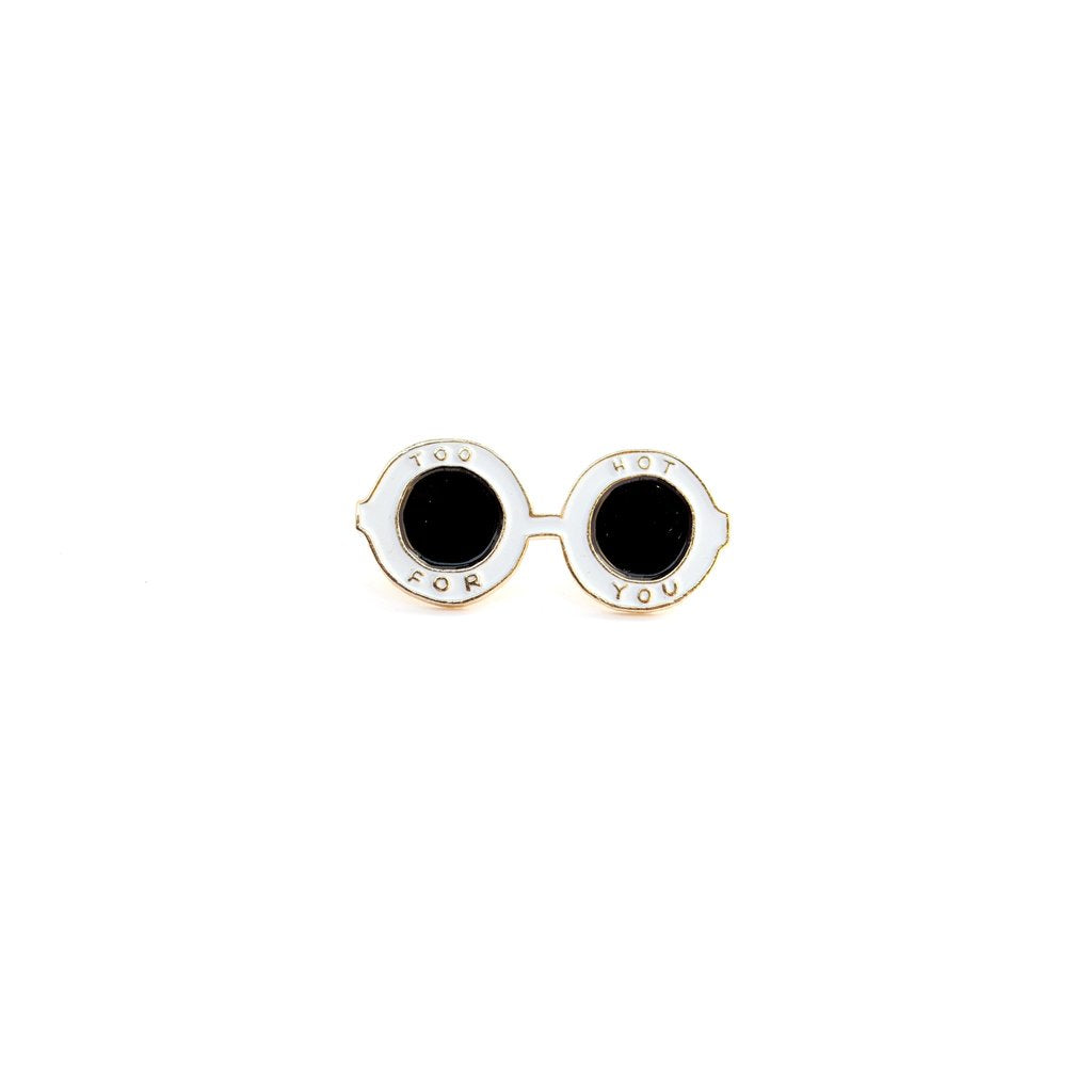 """Sunglasses"" Enamel Pin"