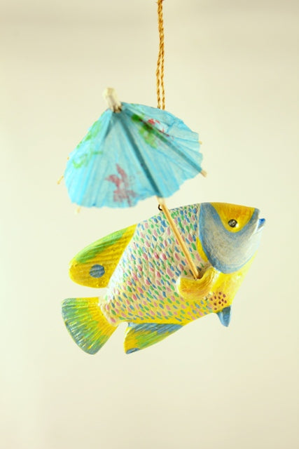 RAINY DAY FISH ORNAMENT