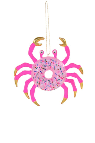 CRABBY DONUT ORNAMENT