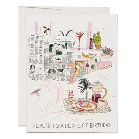 """Birthday Perfection"" Card Greeting Cards - Thorn and Burrow"