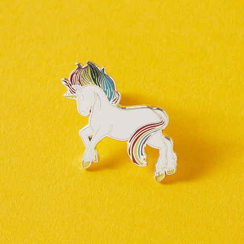 Prancing Unicorn Enamel Pin