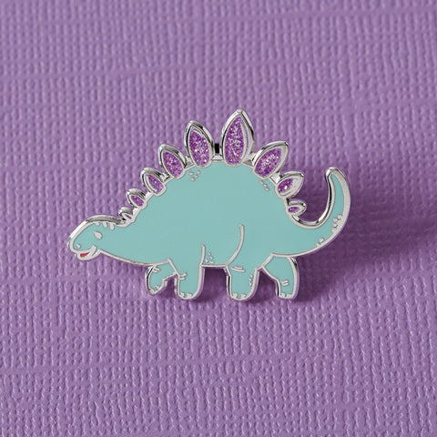 Green Dinosaur Enamel Pin
