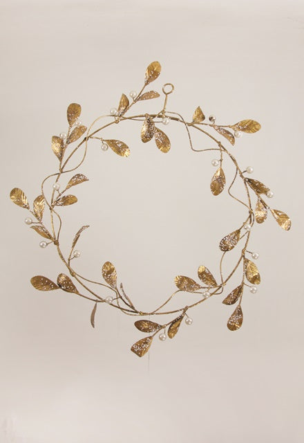 WINTER SNOWBERRY WREATH ORNAMENT