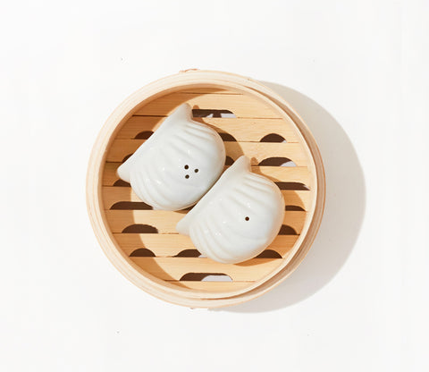 Har Gao salt and pepper shakers