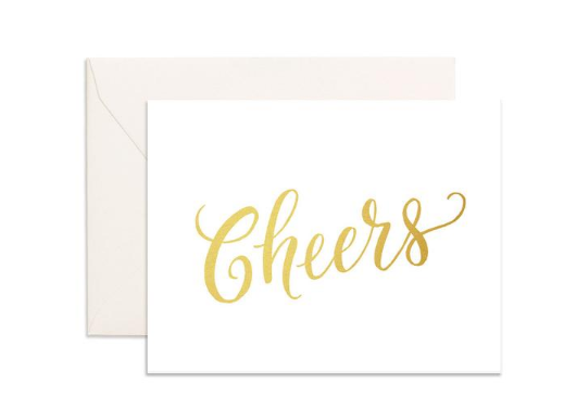 """Cheers"" Greeting Card"
