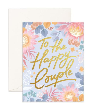 """ Happy Couple "" Greeting Card"