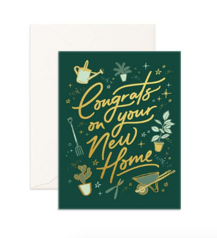 """Congrats New Home"" Greeting Card"