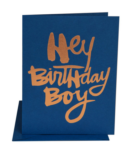 """BIRTHDAY BOY"" Card"