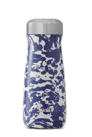 Enamel Blue Traveler - Stainless Steel S'well Water Bottle