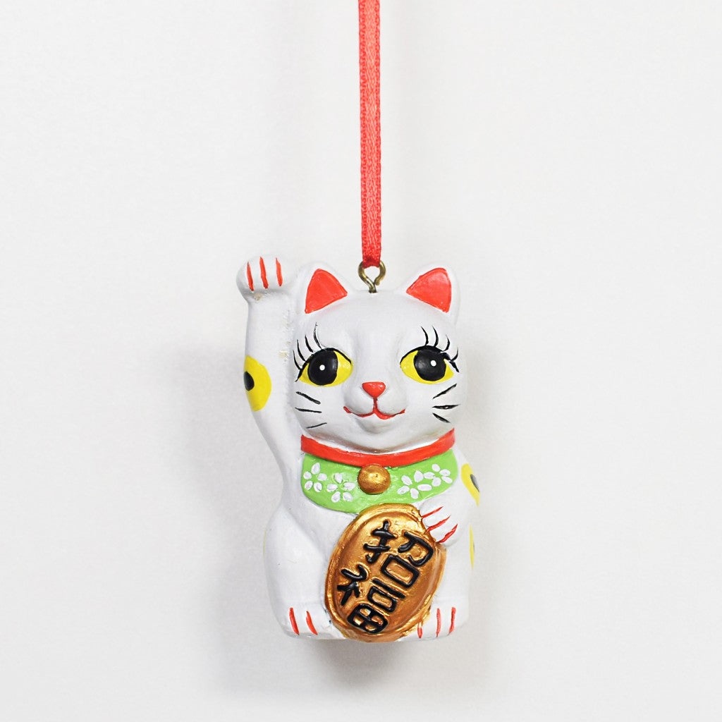 Hong Kong Hanging Decoration: Lucky Cat