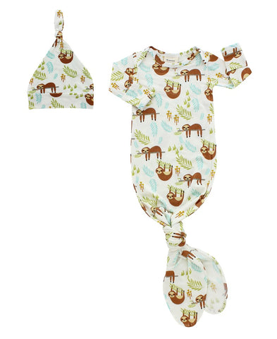 Gown & Hat Baby Gift Set (Multiple Styles)
