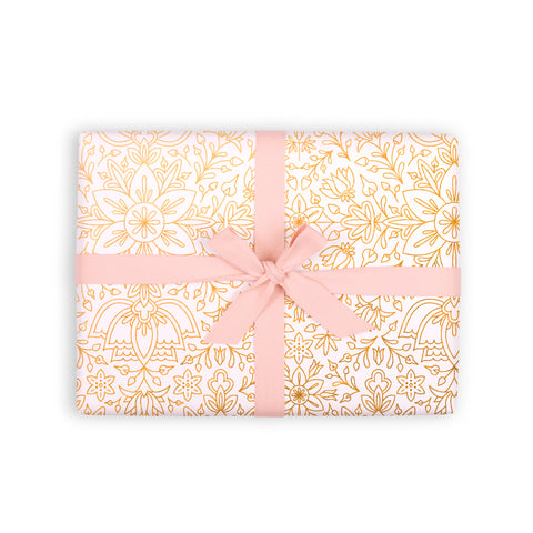 Prussian Snow Gift Wrap