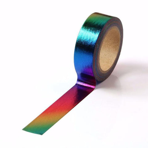 Rainbow Foil Holographic Washi Tape