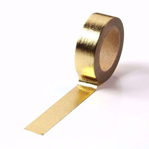 Solid Gold Foil Washi Tape
