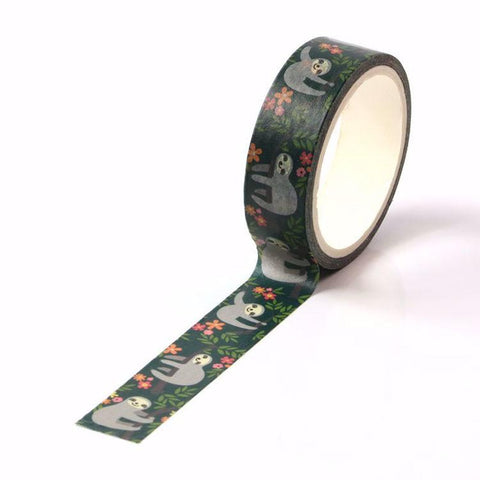 Cute Sloth Washi Tape