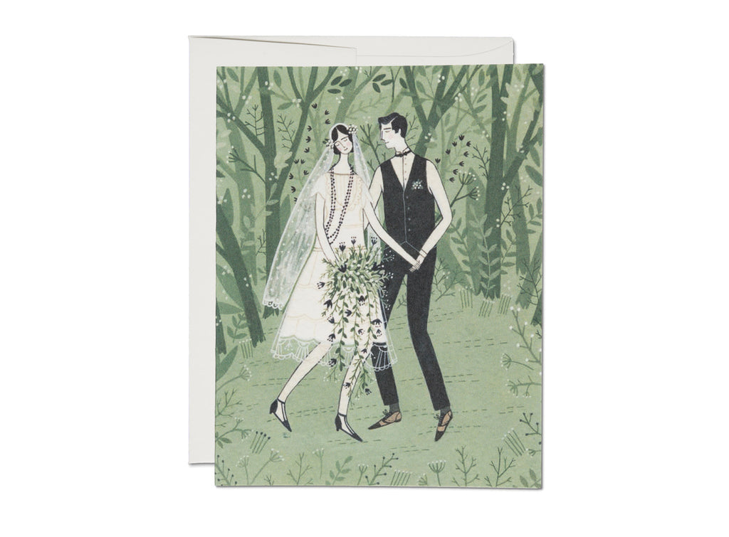 """ Man And Wife "" Card"