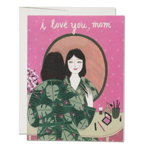 """  Mother's Powder Room  "" Card Greeting Cards - Thorn and Burrow"