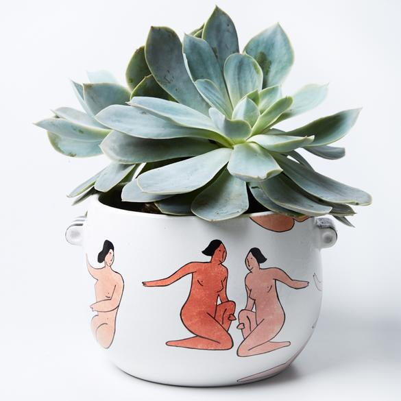 The Muses Planter