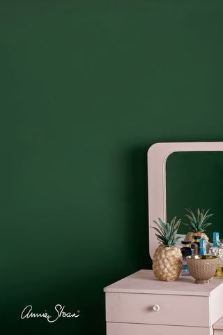 Amsterdam Green Annie Sloan Wall Paint