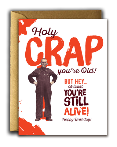 """ Still Alive! "" Card"