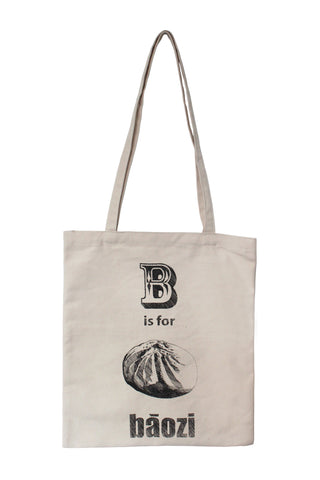 Baozi Canvas Tote Bag Bag - Thorn and Burrow